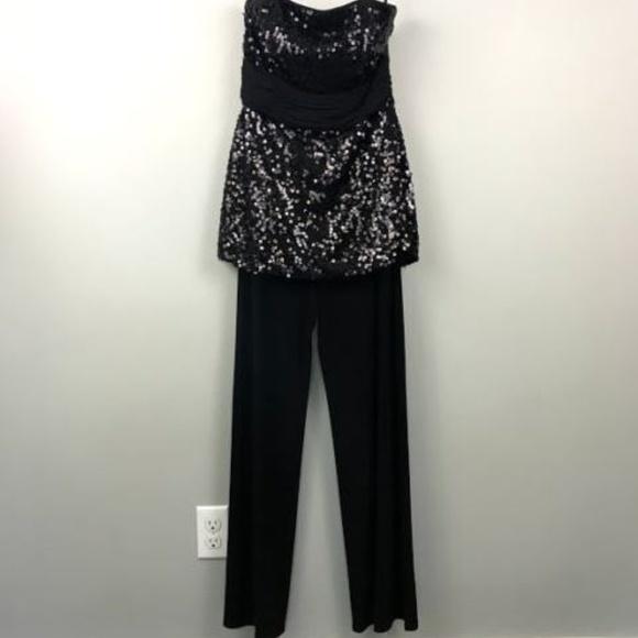 087240084ef ... Market Jumpsuit 6 Sequin Black. M 5af86682a4c485bea0f1f0e7